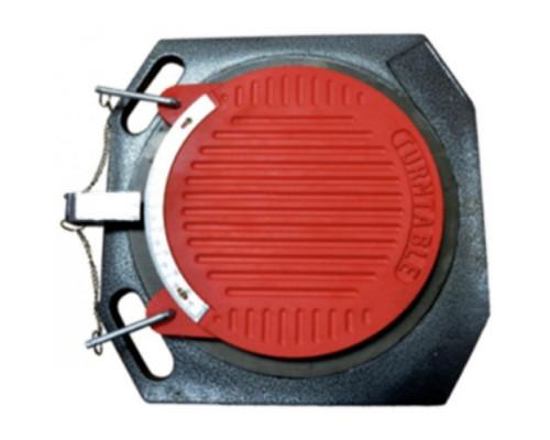 Круги поворотные для схода-развала в комплекте с противооткатными упорами к подъемнику PL-FS50 (2шт/