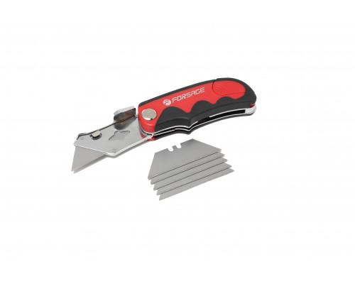 Нож универсальный складной со сменным лезвием, в блистере