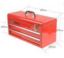 Ящик инструментальный (2 выдвижных полки, откидной верх)