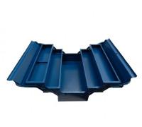 Ящик инструментальный складной,5 отделений (металлический)