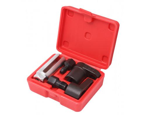 Набор головок для датчиков + метчики для восстановления резьбы, 5 пр. (головки - 22мм, метчики - М12