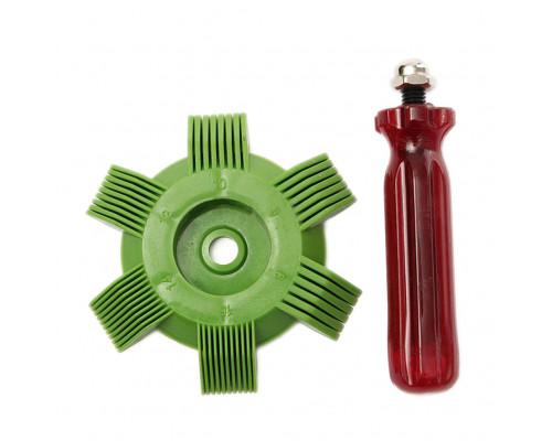 Приспособление для правки сот радиатора в блистере