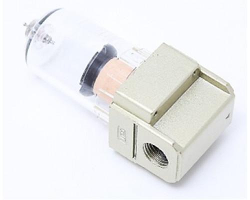 """Фильтр для пневмосистемы мини 1/4"""" (пропускная способность: 200 л/мин, давление max: 10 bar, темпера"""