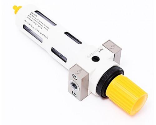 """Фильтр-регулятор с индикатором давления для пневмосистемы 1/8"""" (пропускная способность:800 л/мин, да"""