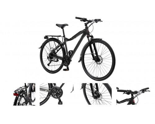 Велосипед MTB Stroller-X(Al6061;колесо700с;пер/зад покр40C; 27скоростейShimano Acera; вилкаRST Neon;
