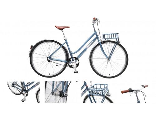 Велосипед Urban Classic F(Al 6061;колесо700с;пер/зад покр35C;3 планетар. скорости; тормаза:U-Brake,з