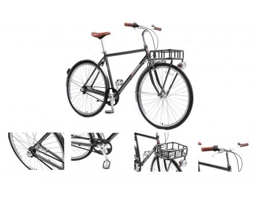 Велосипед Urban Classic M(Al 6061;колесо700с;пер/зад покр35C;3 планетар. скорости; тормаза:U-Brake,з